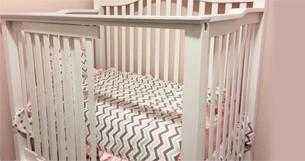 photo of a crib someone might trade