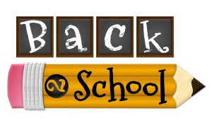 Photo says back 2 school and shows pencil