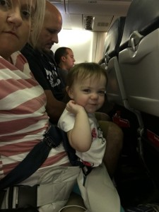 Using LapBaby on the airplane