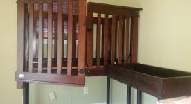 Accessible Crib and Changing Table