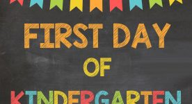 Mommy's Nervous About Kindergarten, too!