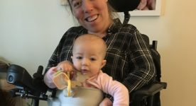 LapBaby: The Babywearing Solution for Wheelchair Users?